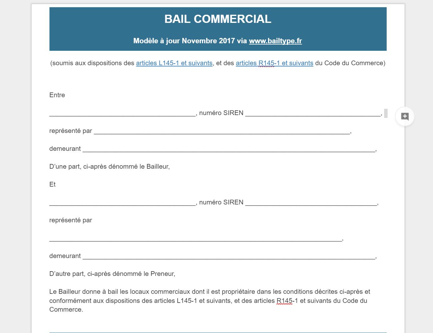 Diagnostic Amiante Renouvellement Bail Commercial