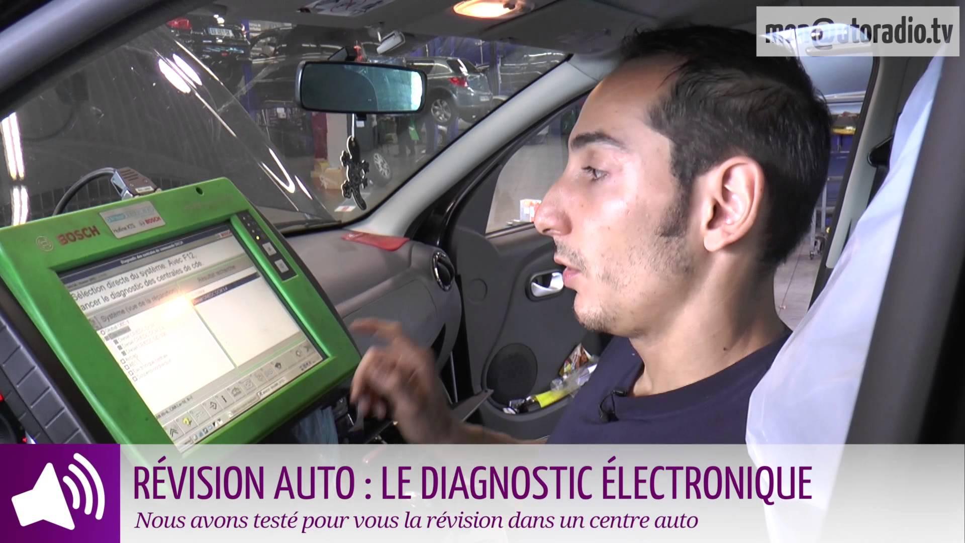 diagnostic electrique embarque automobile