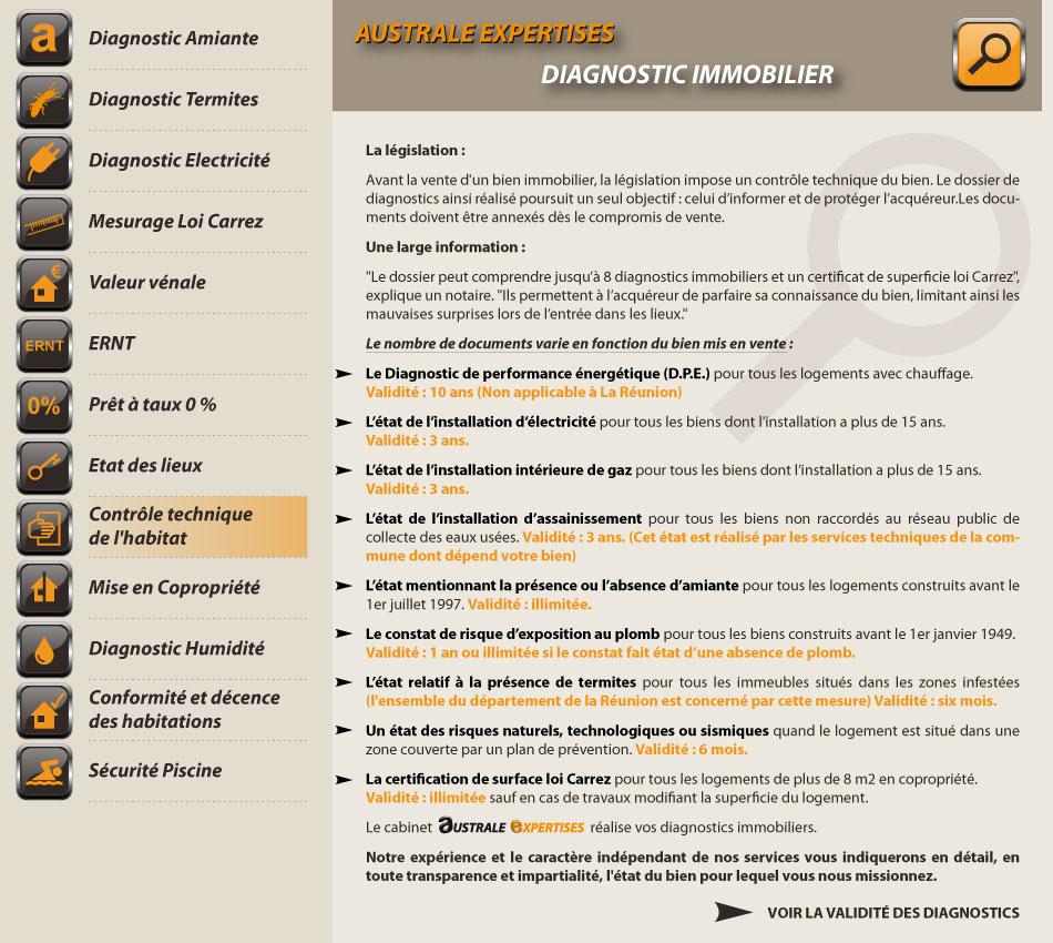 diagnostic electrique et compromis de vente