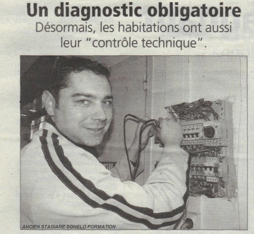 diagnostic electrique formation