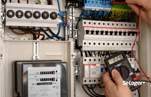 diagnostic electrique location travaux