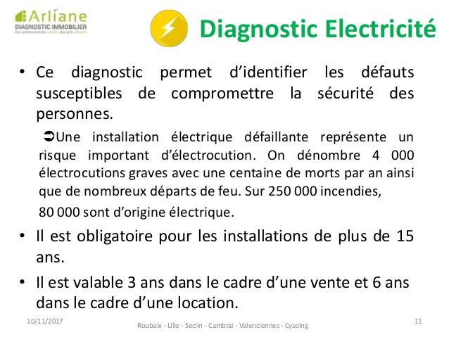 diagnostic electrique valenciennes
