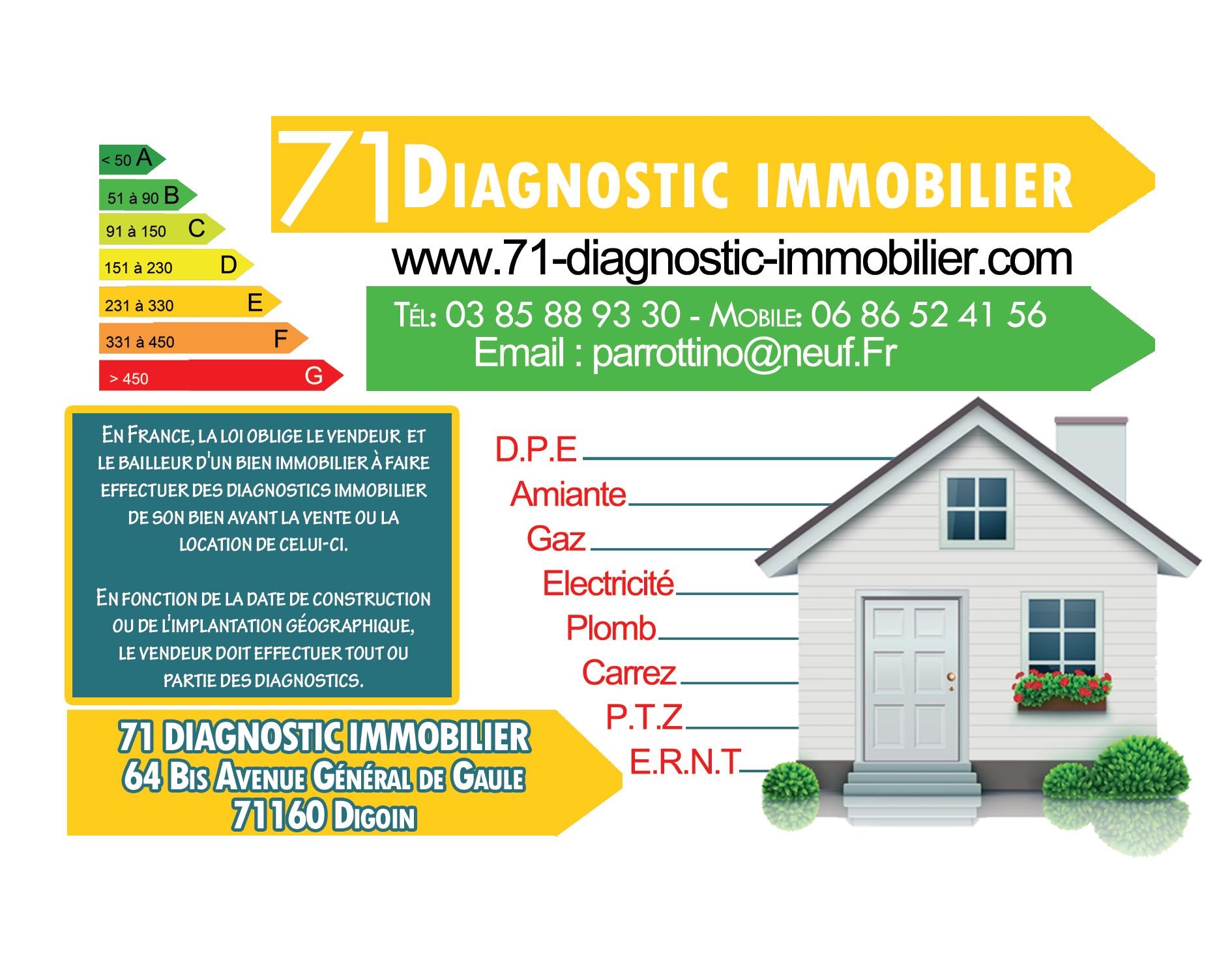 diagnostic immobilier 71